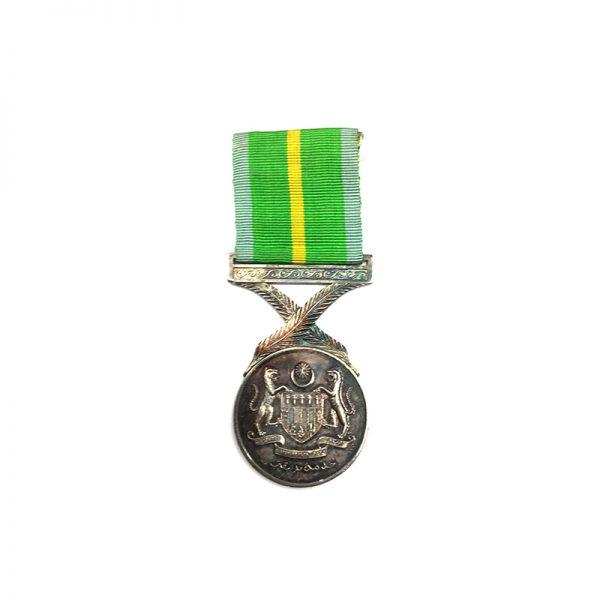 Active Service Medal  silver Korean War 1