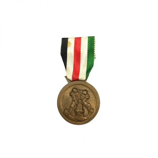 Italy-German Africa Medal 1941 bronze  by Lorioli 1