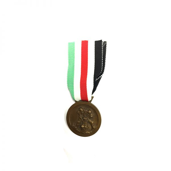 Italy-German Africa Medal 1941 bronze  by Lorioli 2