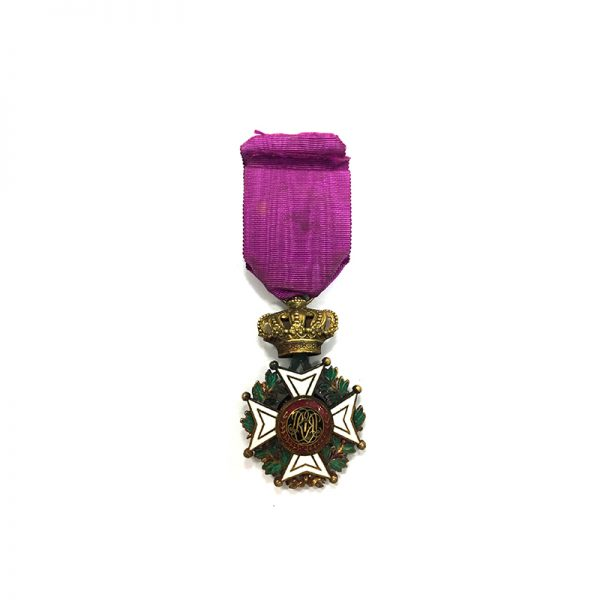 Order of Leopold French  Officer   badge 2