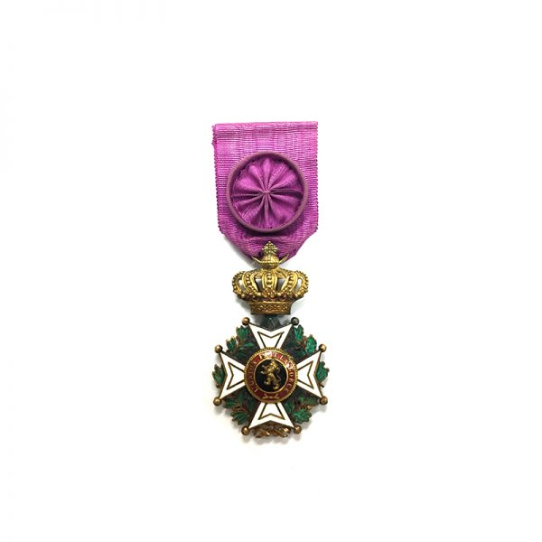 Order of Leopold French  Officer   badge 1