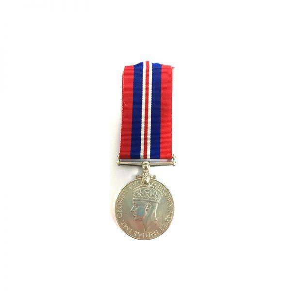 1939-45 War medal silver 1