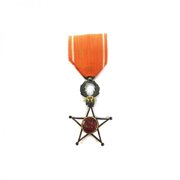 Order of Ouissam Alaouit Knight 1