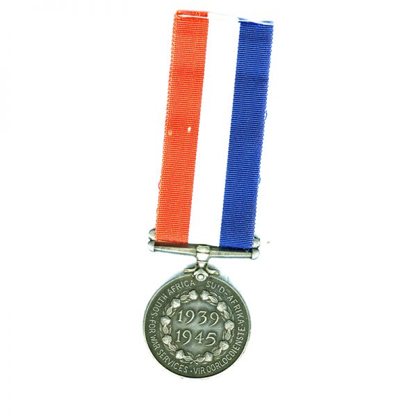 South African Medal for home services 1939-45 2