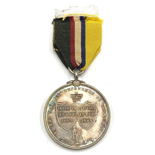 Kimberley Siege Medal Round Silver Medal 2