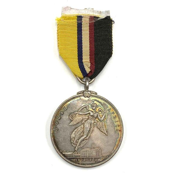 Kimberley Siege Medal Round Silver Medal 1