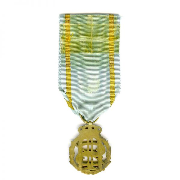 King Oscar & Queen Sophia Golden Wedding Anniversary medal 1907 silver gilt(21029... 2