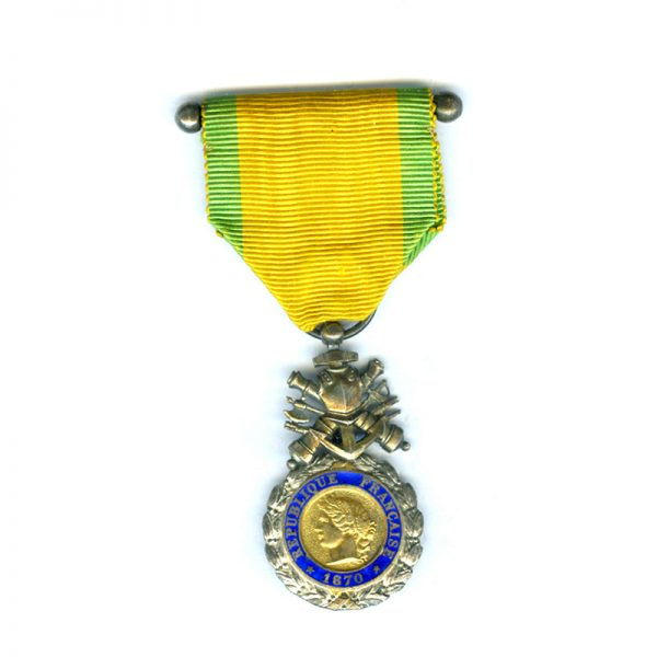 Medaille Militaire 1870 double sided 1