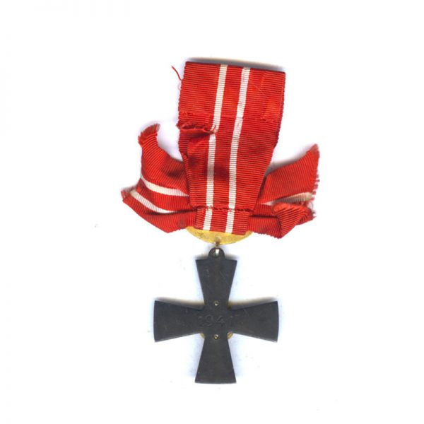 Order of Liberty Cross 3rd class 1941 with swords 2