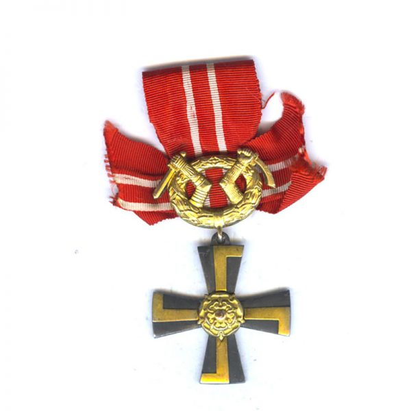Order of Liberty Cross 3rd class 1941 with swords 1