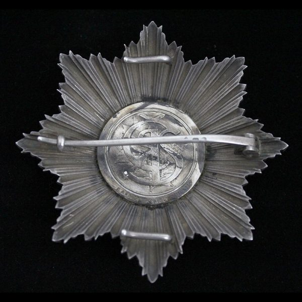 Order of the White Lion Grand Cross Breast Star 2