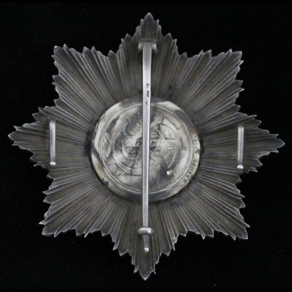 Order of the White Lion Grand Cross Breast Star 3
