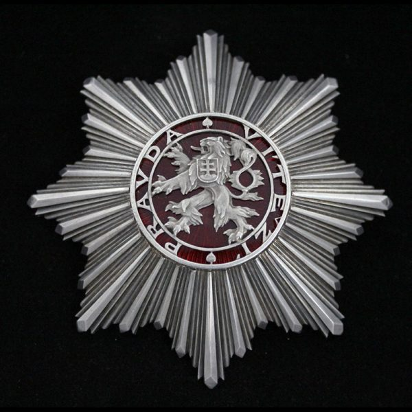Order of the White Lion Grand Cross Breast Star 1