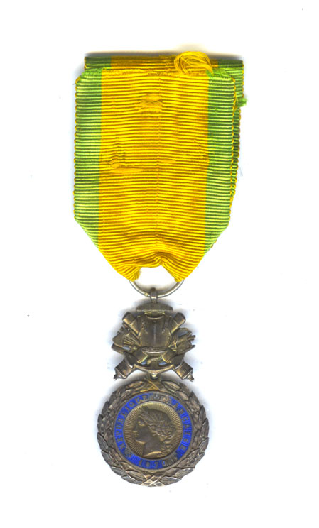Medaille Militaire 4th   type 1870 1