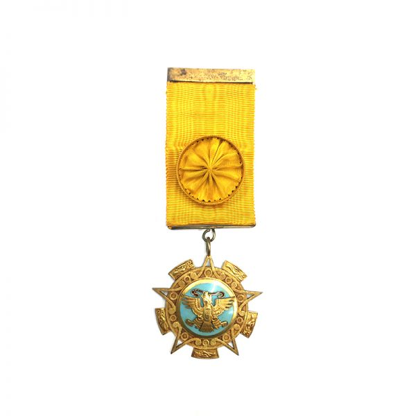 Order of the Aztec Eagle Officer in silver gilt 1