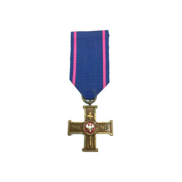 Wielkopolski Uprising Cross 1918-1919 1