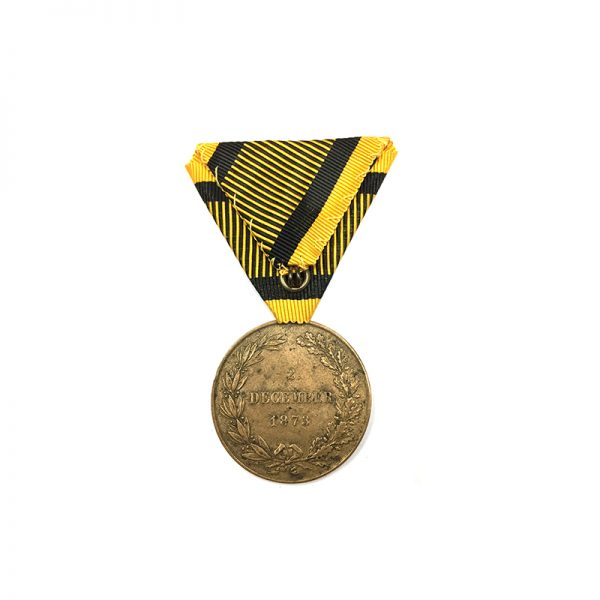 Campaign Medal 1873 gilt awarded for China 1900 Campaign 2