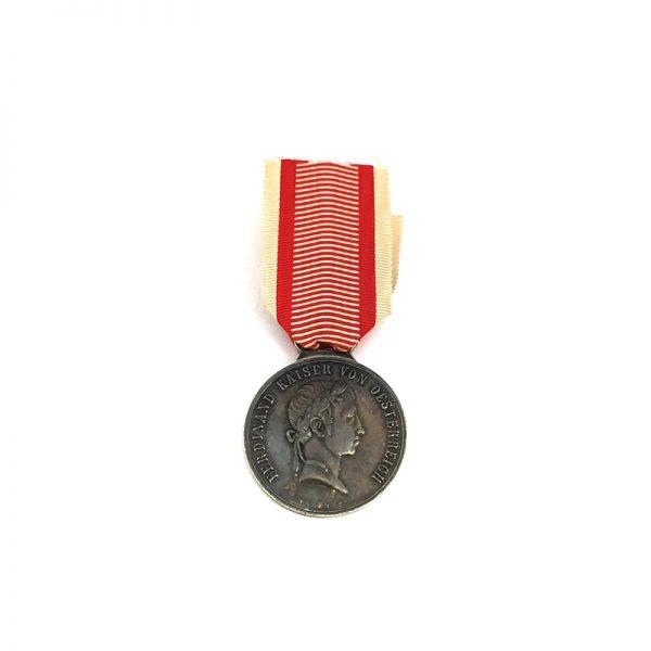 Medal for Bravery Franz I 1839-1849  silver 1