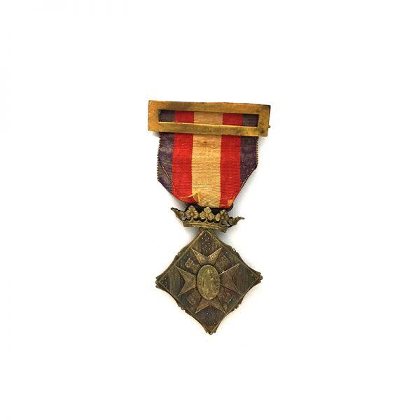 Centenary City of Gerona 1809-1909 silver 1