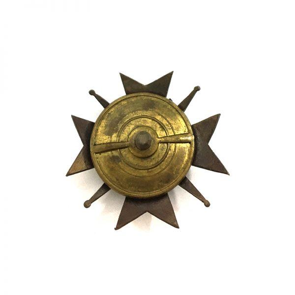 64th. Grudiaz  Inf. Regt. (W301) bronze  and enamels 2