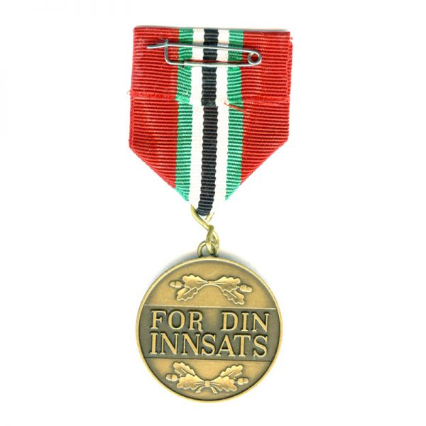 Overseas Defence medal with Saudi Arabia Ribbon for Gulf warwith silver emblem... 2