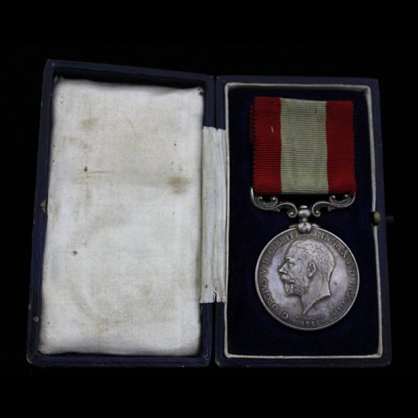 Board of Trade Rocket Apparatus Volunteers Medal for Long Service 1