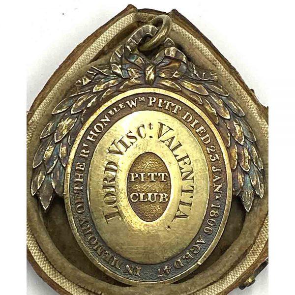 Pitt Club Lord Viscount Valentia in original case 2