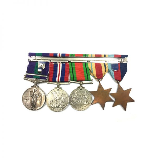 WW2 Group Malaya Major QARANC 2