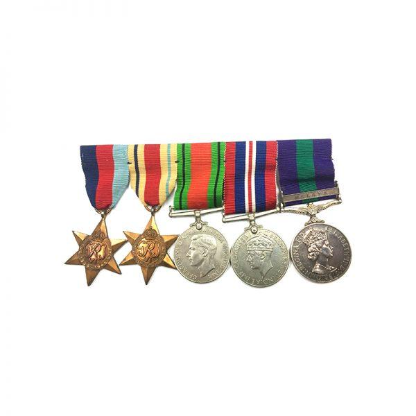 WW2 Group Malaya Major QARANC 1