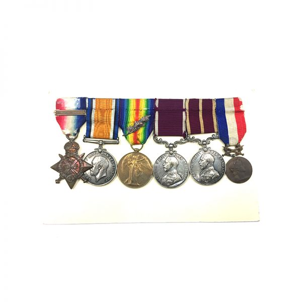 WW1 MSM Medal of Honour Group 1