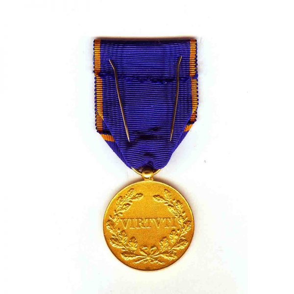 Order of Adolph of Nassau Gold (gilt)  Merit medal 2