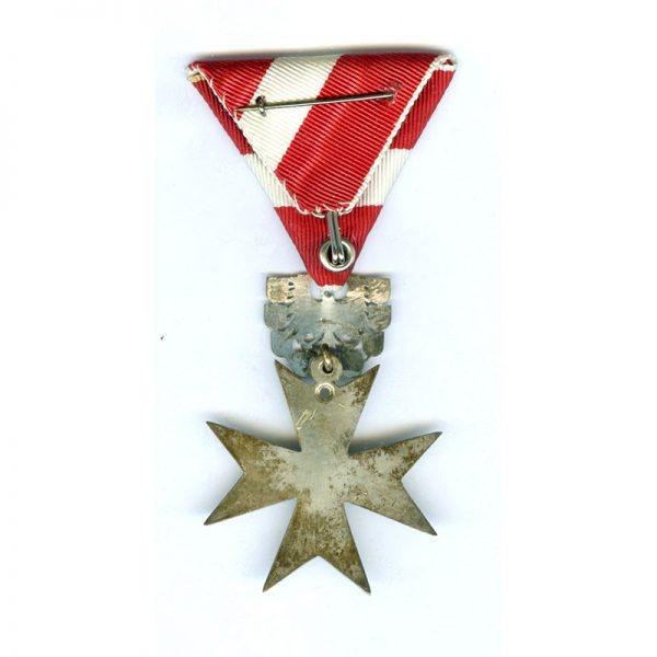 Republic of Austria  Republic Order of Merit Type II 1952 knights silver... 2