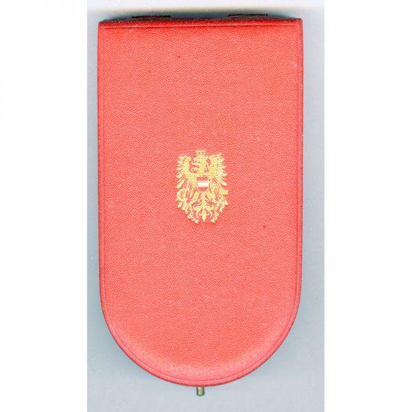 Republic of Austria  Republic Order of Merit Type II 1952 knights silver... 3