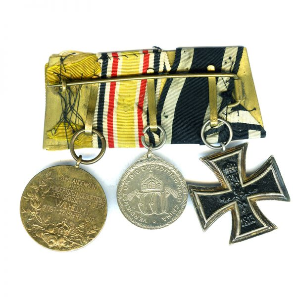 Group of 3; Iron Cross 1914 2
