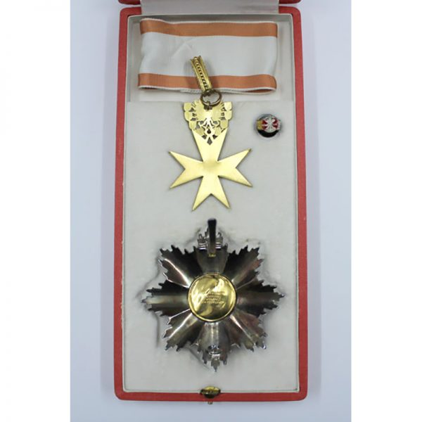 Republic Order of Merit Type II 1952 Grand Officer  breast star and... 2