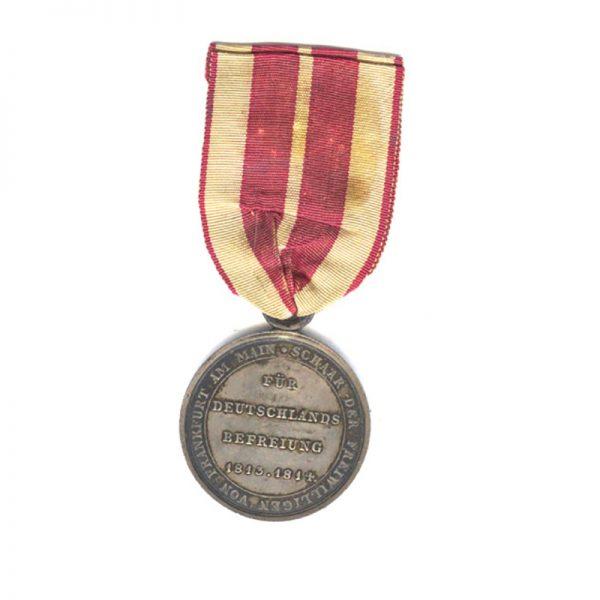 Volunteers medal 1813-1814 2