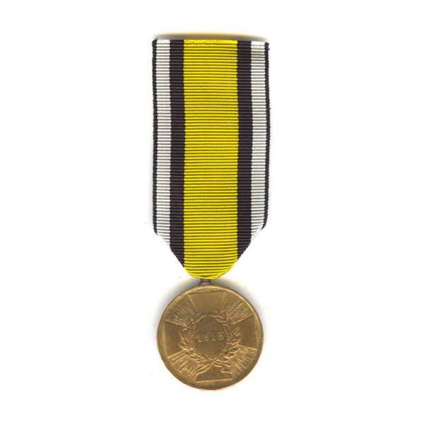 1813 War medal combatant with squared arms 1