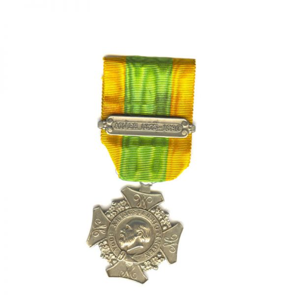 Expeditions Cross (Cross for Important Military Operations) 1st type   bar Atjeh 1873-1890 1