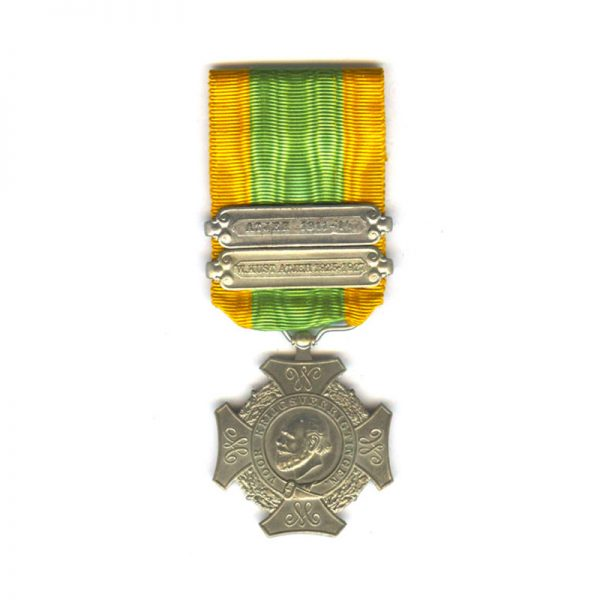 Expeditions Cross (Cross for Important Military Operations) 2nd type   2 bars 1