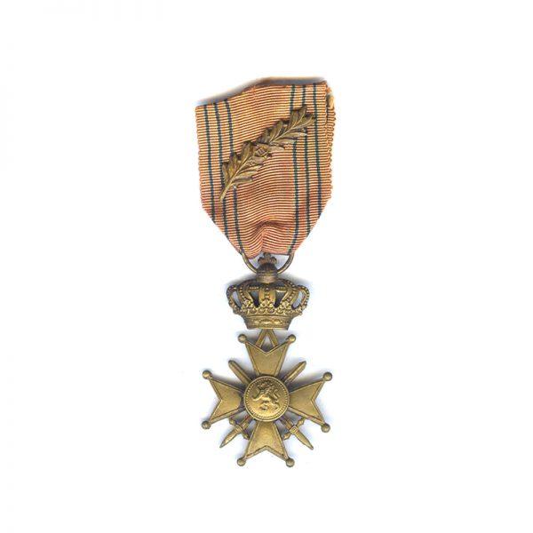 Croix de Guerre 1939-1945  with Leopol III palme citation on ribbon(L28079... 1
