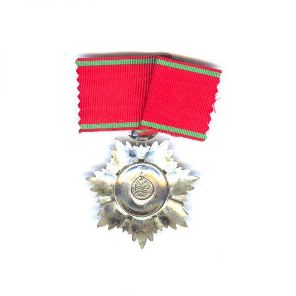 Order of the Medjidie Commander with Sabres  neck badge with  all gold... 2