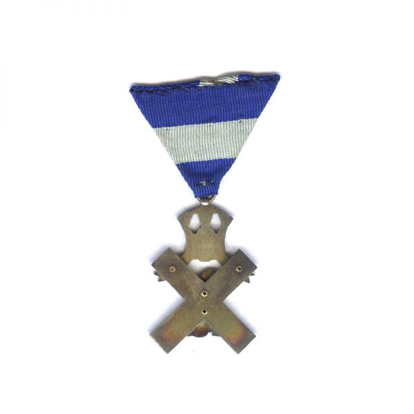 St. Andrews Blue Cross Merit Decoration breast badge for war wounded in... 2