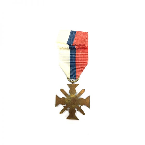 Wolyn Cross of Valour and Merit with swords 2