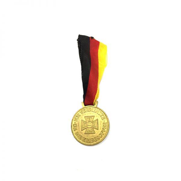 Federation of War Victims merit medal gilt 1