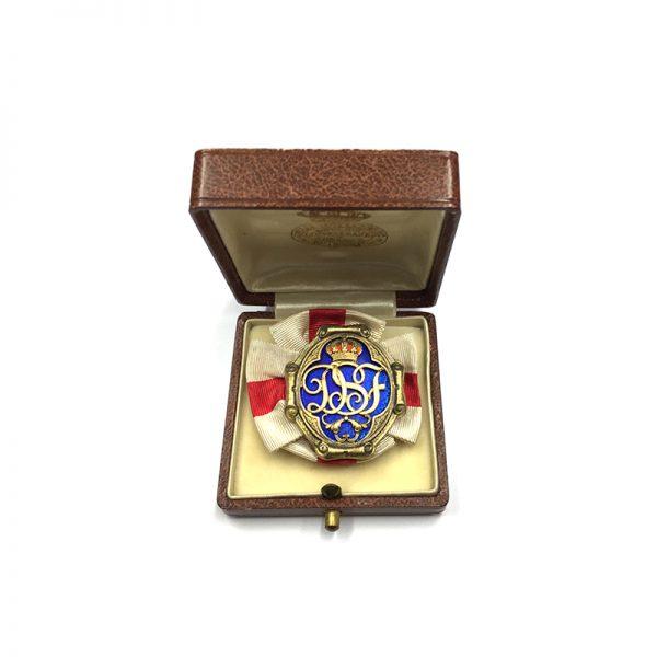 Sweden, Queen Sophia's Red Cross Badge of Merit, 5