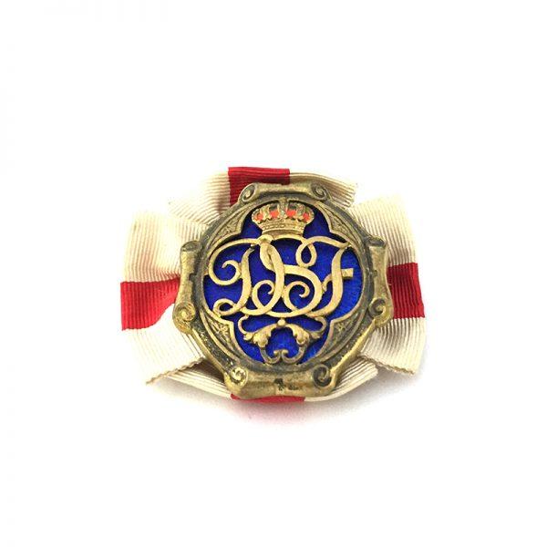 Sweden, Queen Sophia's Red Cross Badge of Merit, 1