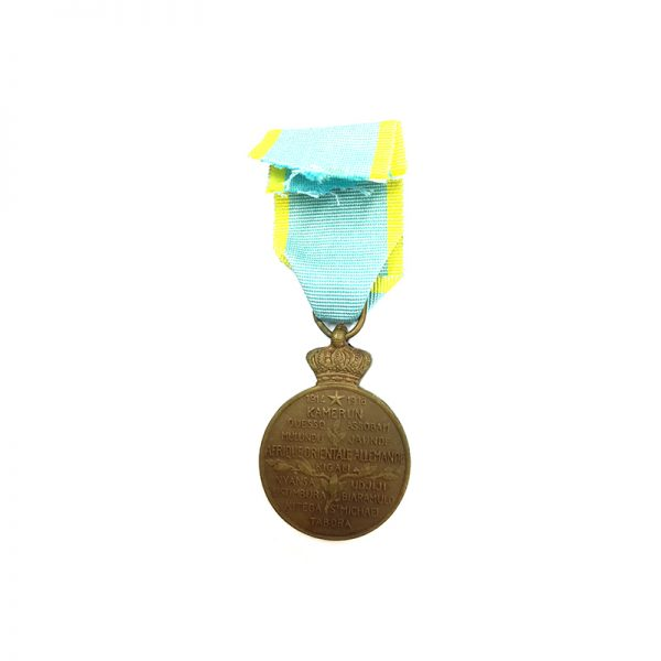 Africa Campaign Medal 1914-1918 bronze scarce 2