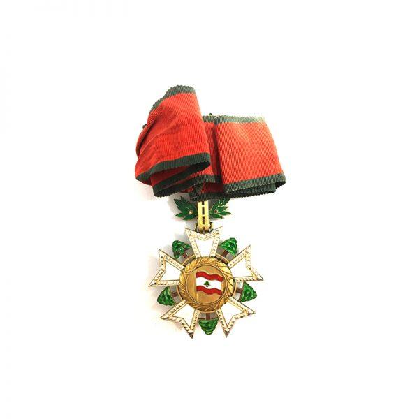 Order of the Cedar of Lebanon Commander 2