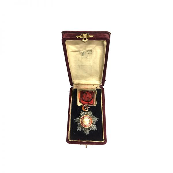 Order of the Medjidie 4th  class  breast badge 5