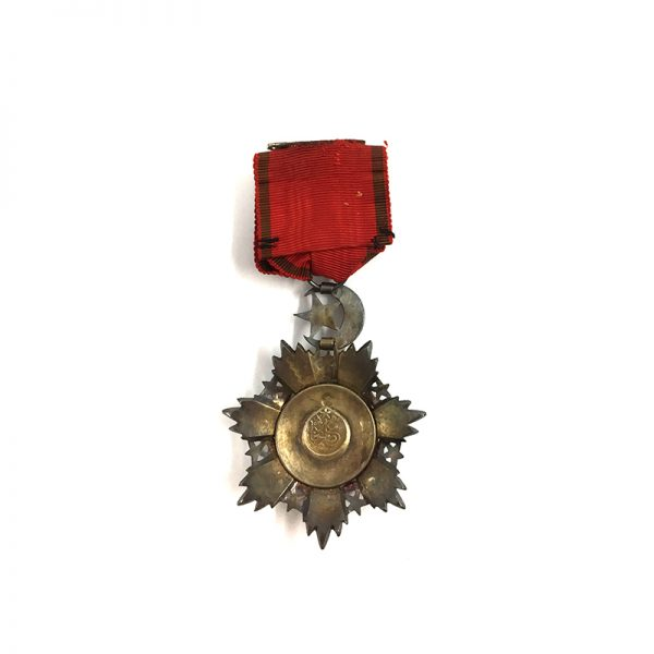 Order of the Medjidie 4th  class  breast badge 2